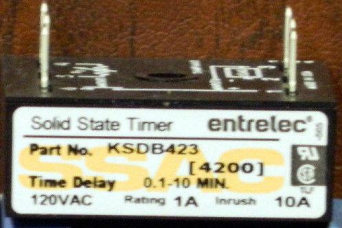 SSAC Entrelec KSDB423 Solid State Timer