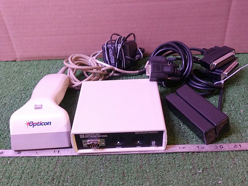 American Microsystems Microscanner w/Card reader (pre-owned)