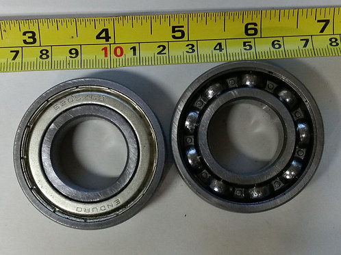 2 Enduro 6205Z C3 Bearings