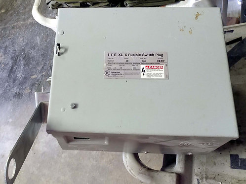 I-T-E RV462 XL-X Fusible Switch Plug (pre-owned)
