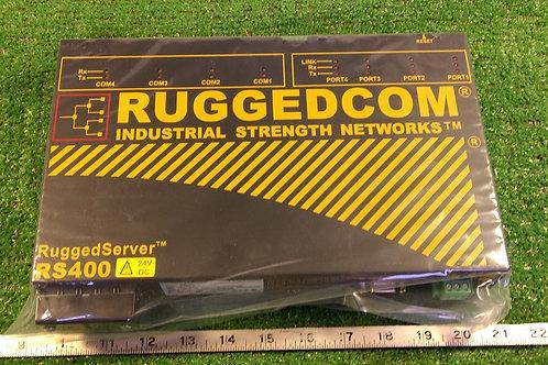 RuggedCom RuggedServer RS400 RS400-24-D-TXTX-3D-XX Ethernet Converter