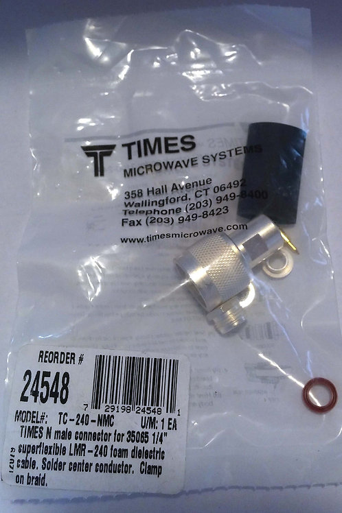 Times Microwave TC-240-NMC Connector