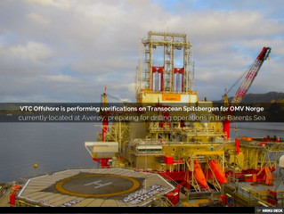 VTC Offshore is performing verifications on Transocean Spitsbergen for OMV Norge