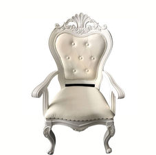 All white Throne Chairs £140 per pair