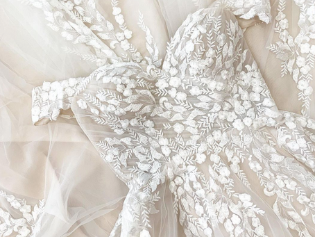 A wedding dress is both intimate and personal