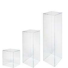 Acrylic Trio Plinths- £100