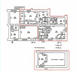 План помещения 131,6м2