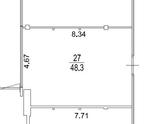 План 48,3 кв.м.
