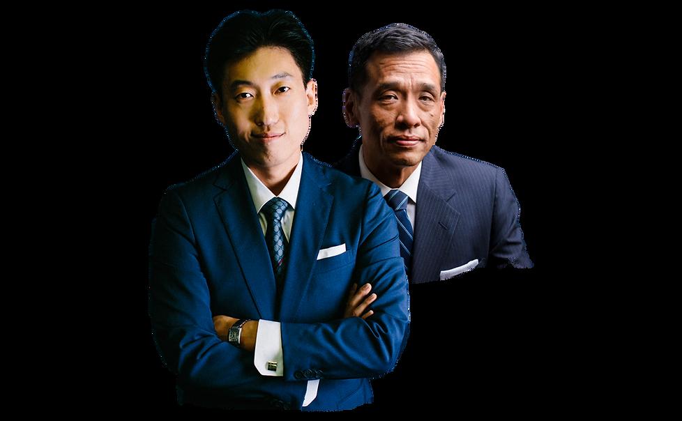 Attorneys Stephen andJoseph Lee