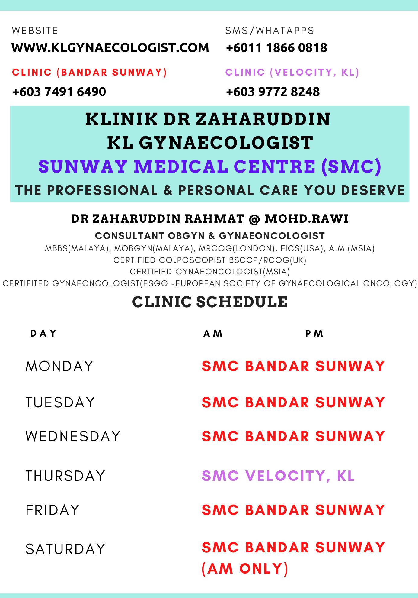 clinic schedule (2)