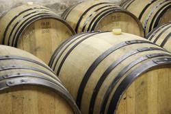 barriques de vin domaine de la Barbinièr