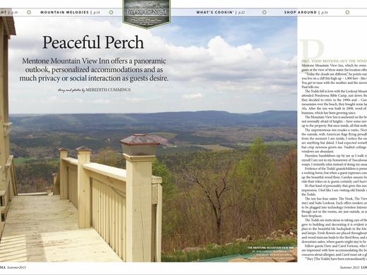 Peaceful Perch