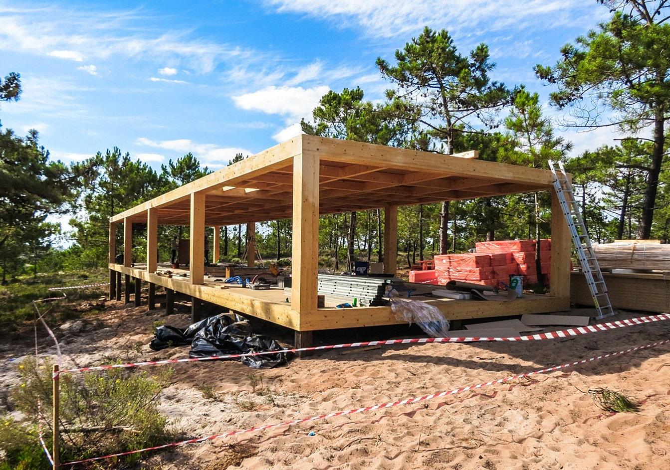 Constructeur maison bois design for Constructeur maison en bois tarbes