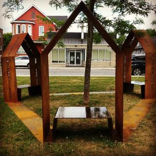 Arts sur l'Avenue - Une place pour tous, réalisation de Marie-ève Rabbath