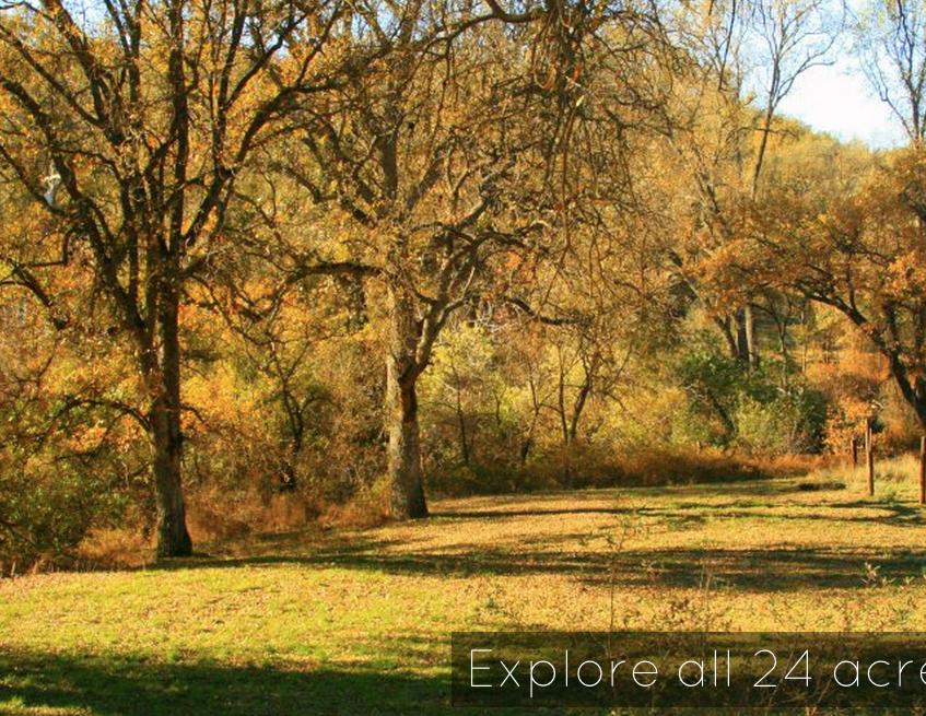 Autumn at Seven Circles Retreat