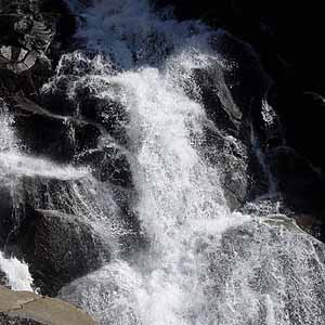 Waterfall Sequoia National Park