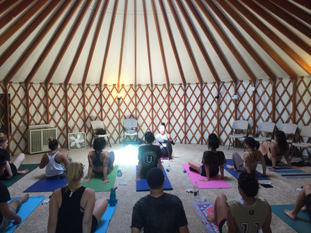 The Central Valley, CA. Yoga Retreat Center