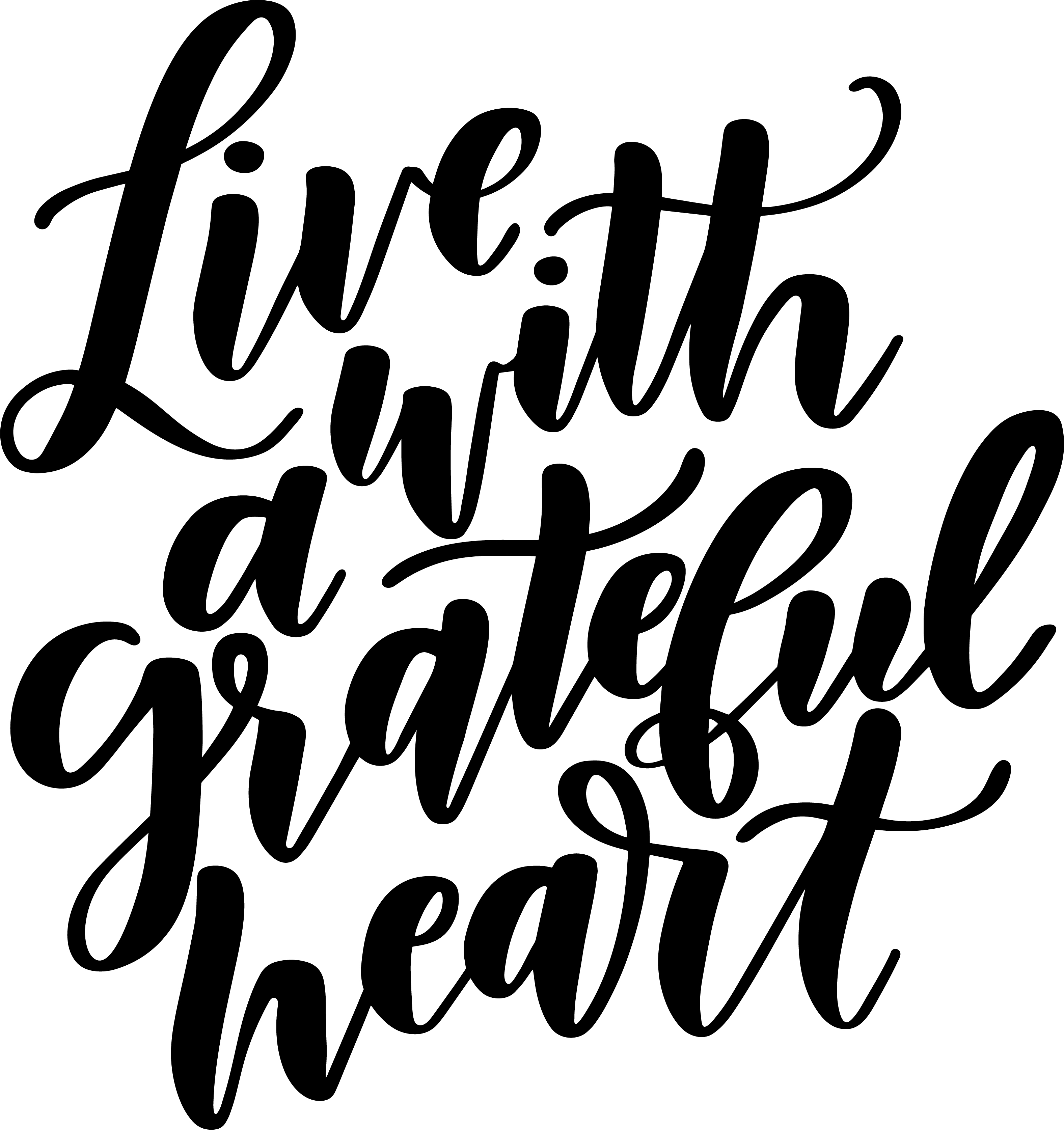 Live with a Grateful Heart