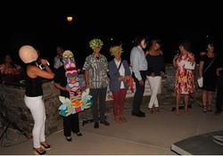 Masked participants