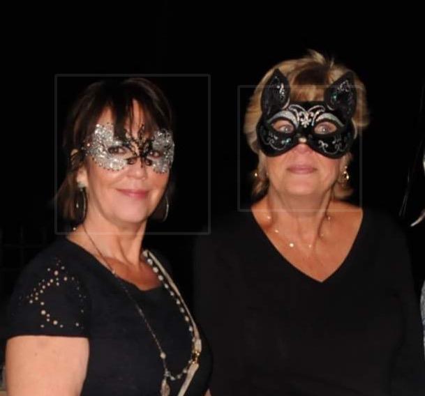 Masked friends