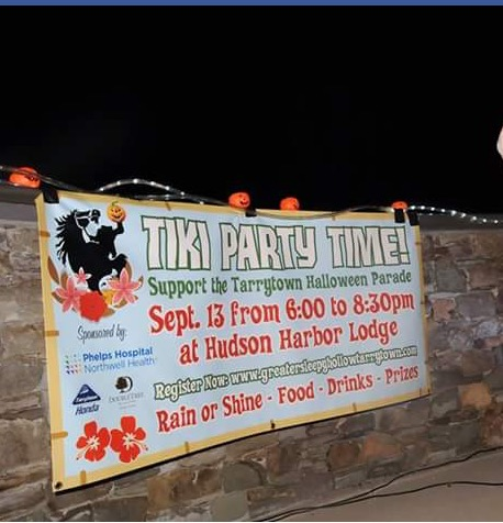 Tiki Party banner