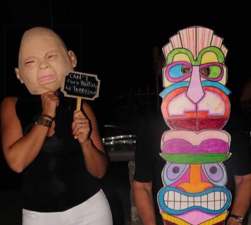 Mask winner Totum Pole
