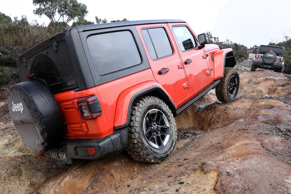 Jeep Wrangler JL Launch