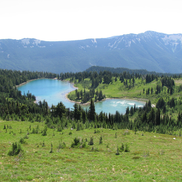 Shoe Lake View from PCT