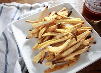 Cajun parsnip fries