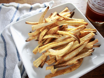 Cajun parsnip fries