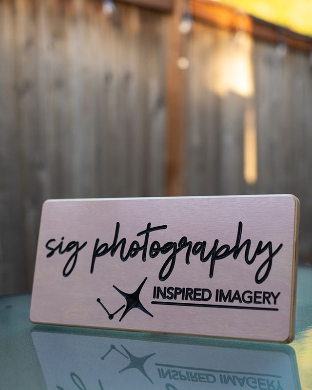 Sig Photography Sign