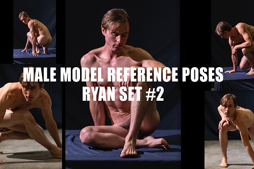 Male Model Reference Images Set #2