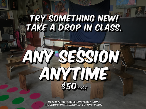 Drop in to any class