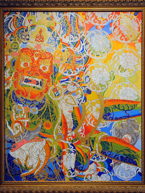 Rainbow Deity Print