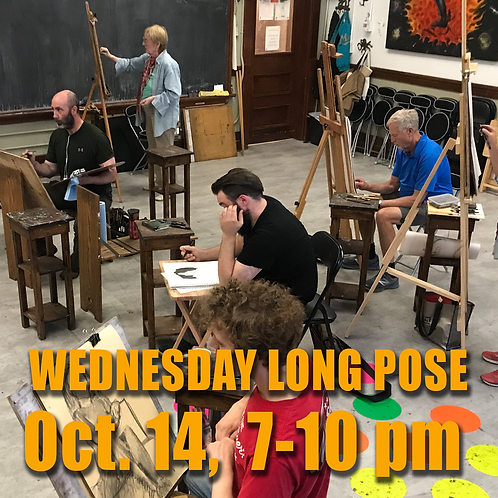 Long Pose Wed Oct. 14, 7 - 10 pm