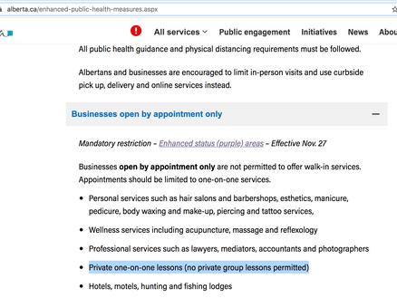 State of public health emergency = STUDIO CLOSURE!