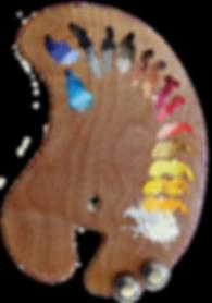 Ateleir Artista palette logo