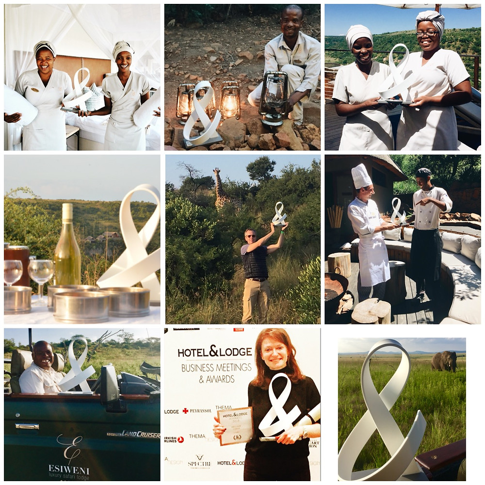 Best Lodge 2018 by Hotel & Lodge : Esiweni Lxury Safari Lodge in South Africa