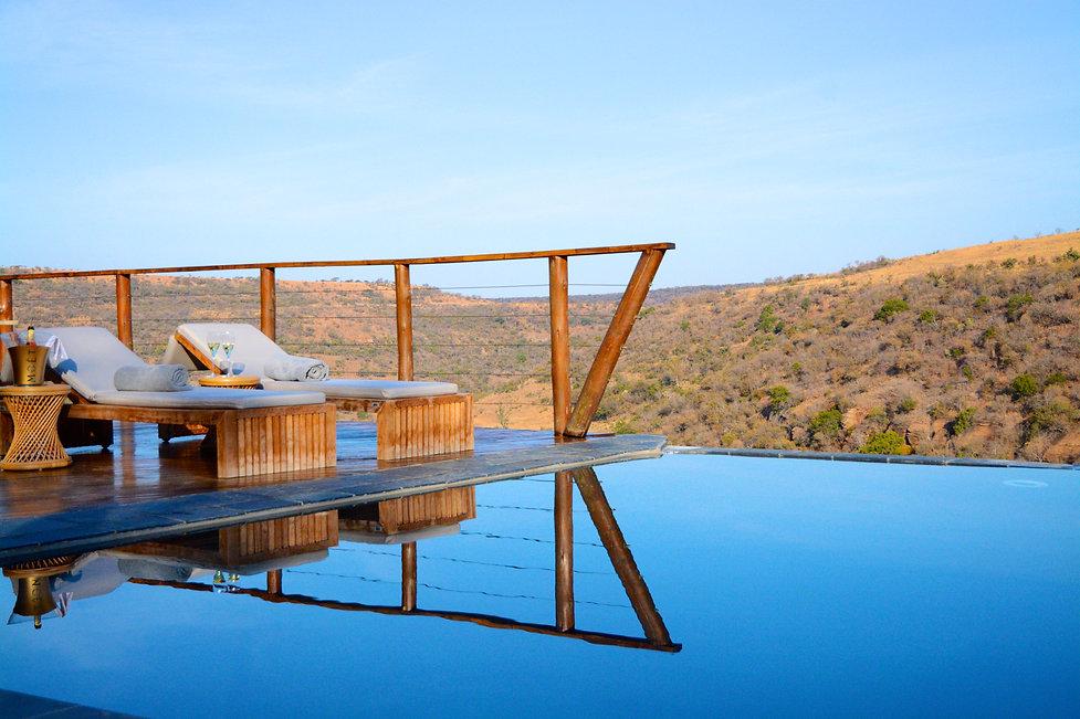 Esiweni  Luxury Safari Lodge  Swimming p