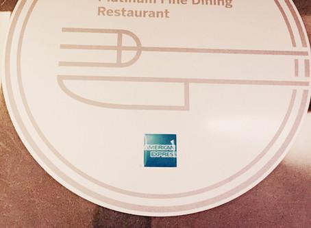 Platinum Fine Dining Awards