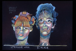Jennie Lou and Emma - 1967