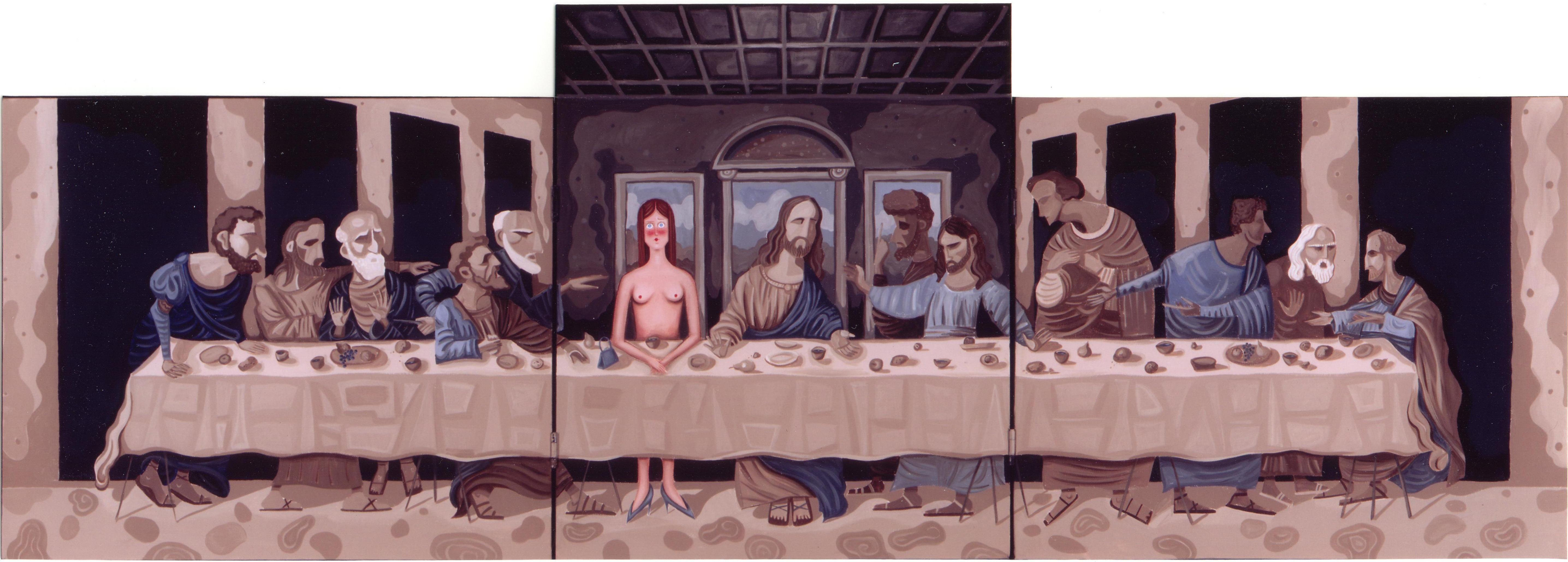 Naked at the Last Supper
