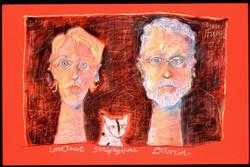 LouAnne  Stripey Nose  David