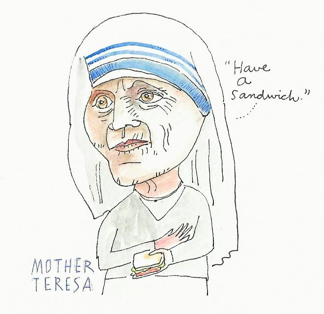 Mother Teresa and the Miracle of the Sandwich.jpg