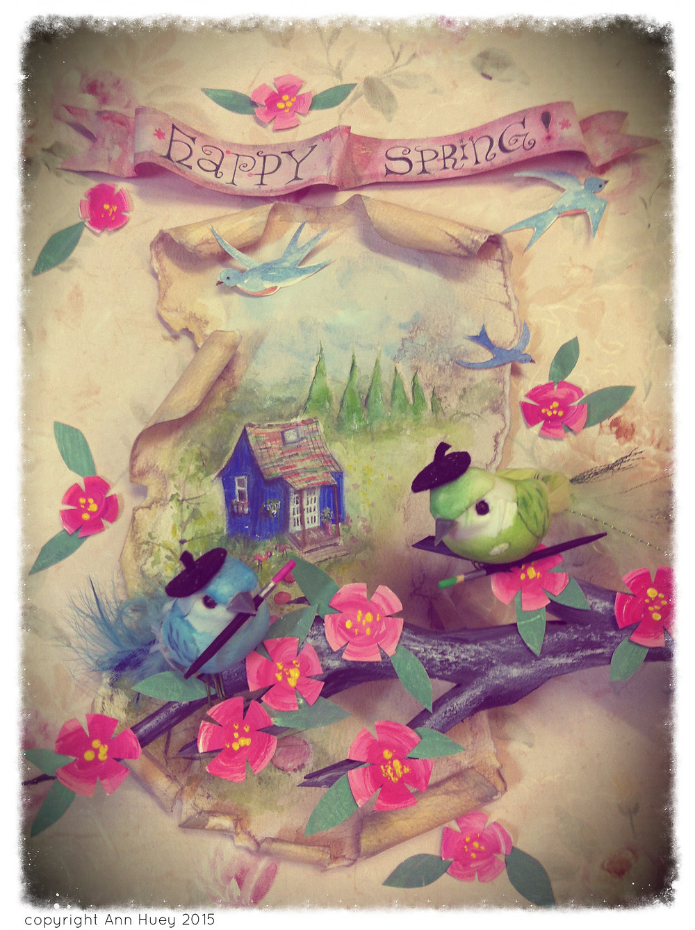 Happy Spring by Ann Huey