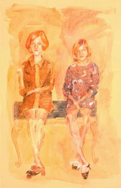 Ann and Jennie Lou - 1967