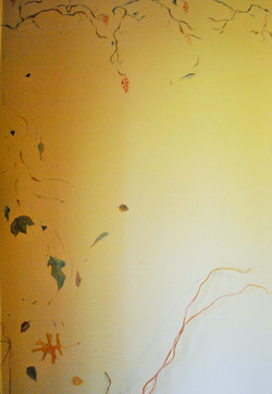 wall graphic detail