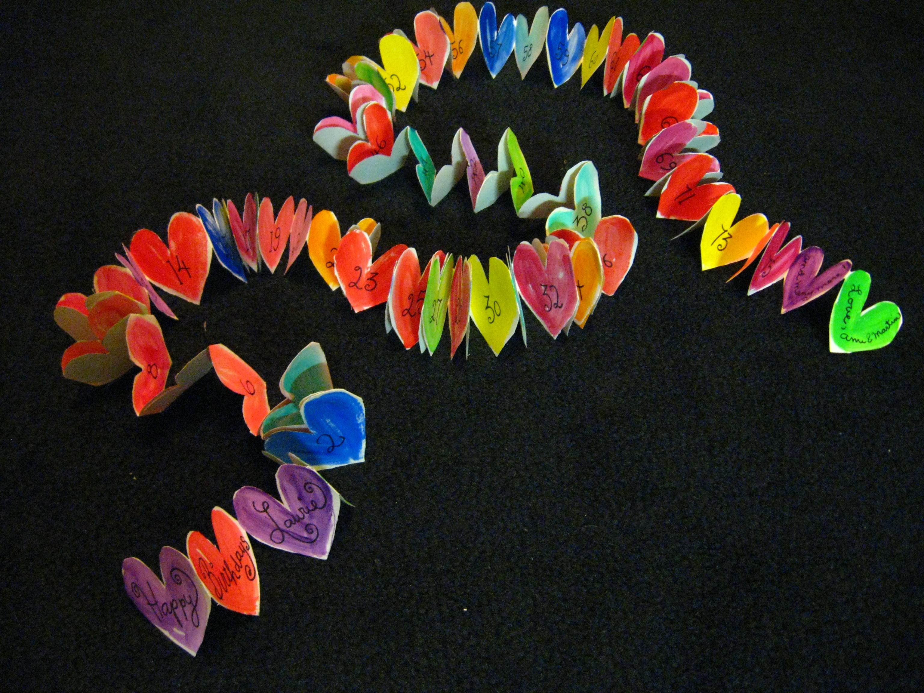 75 hearts