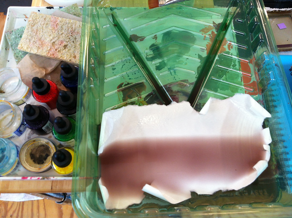 stain paper