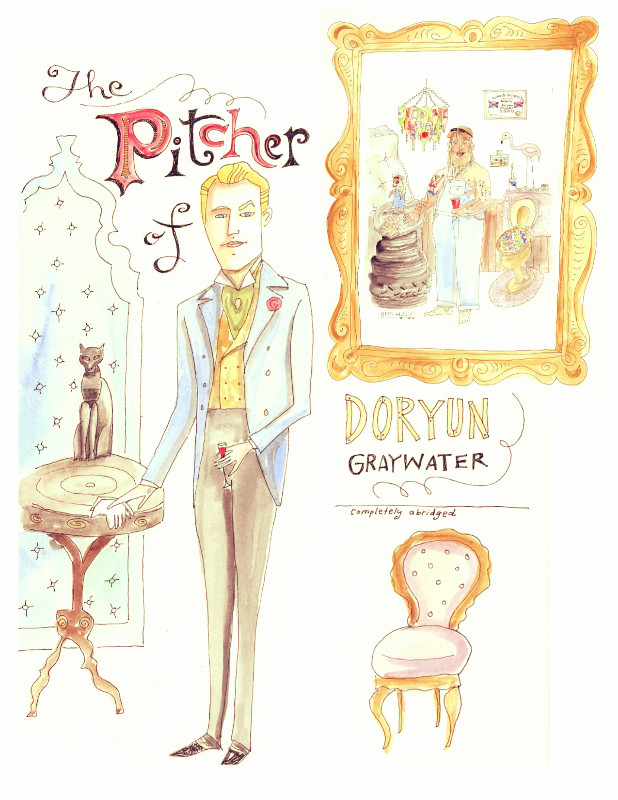 Re-Picturing the Picture of Dorian Gray:   With Apologies to Messrs. Albright, Medina and Wilde